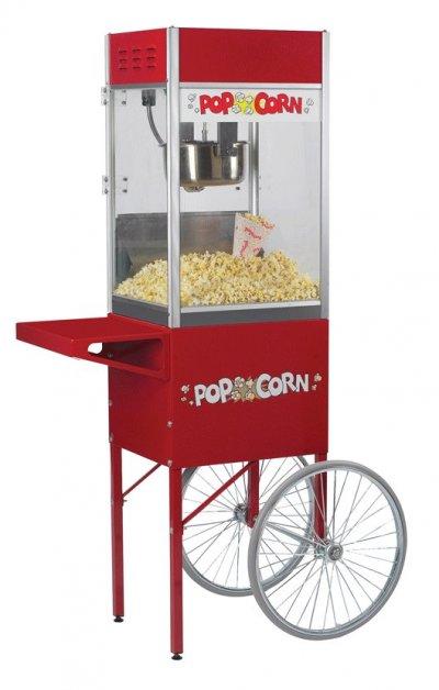 Hyra popcornmaskin med vagn modell stor