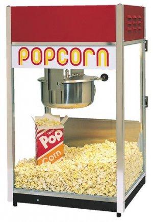 Hyra popcornmaskin 6oz med vagn i Stockholm
