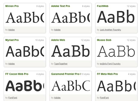 web fonts Microsoft