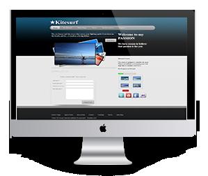 Kitesurf html5 templates