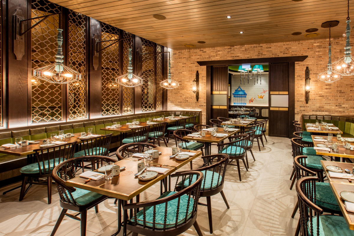 Ming Room - available for private dining. Seat up to 40 guests.