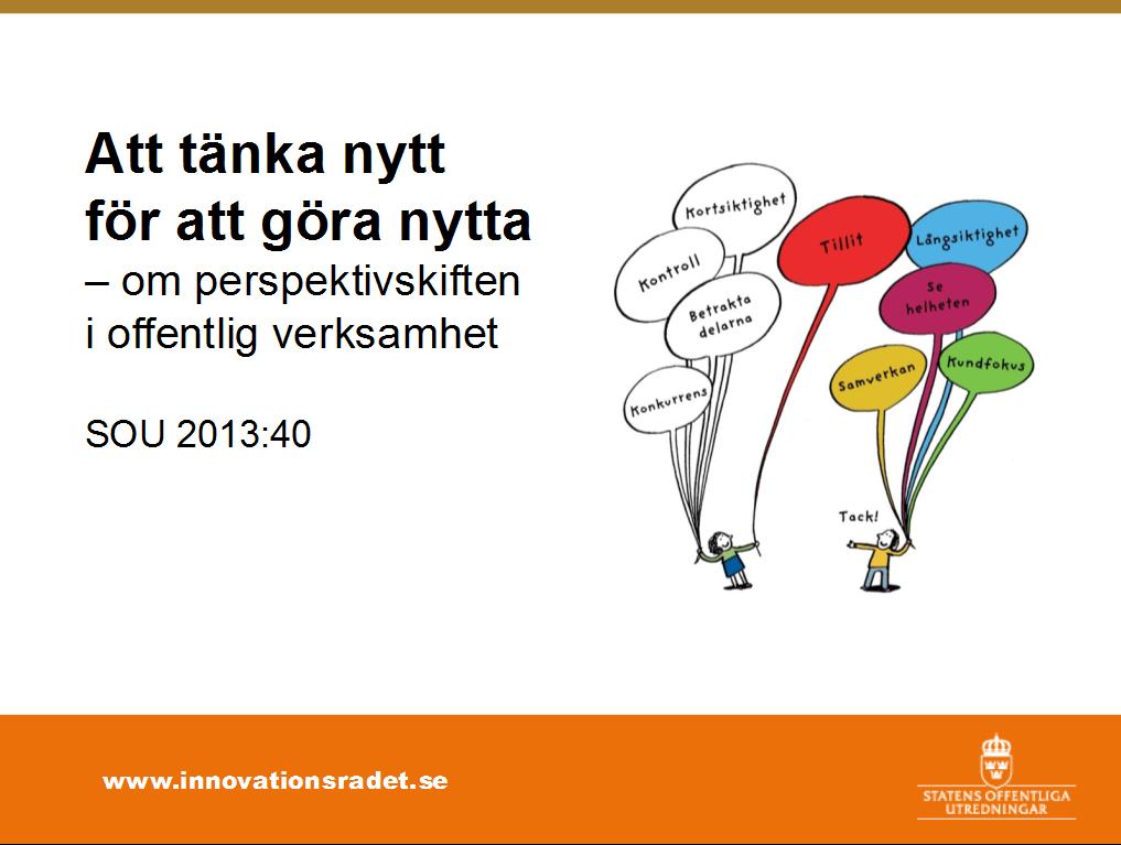 Sammanfattning av Innovationsrådets betänkande