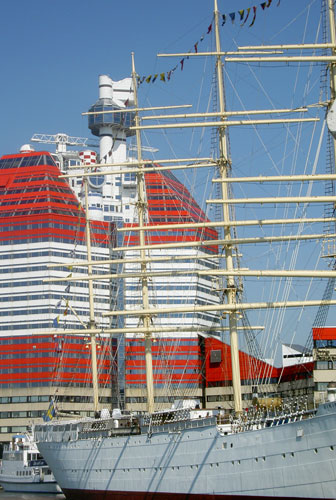 Barken Viking och Läppstiftet i Göteborg