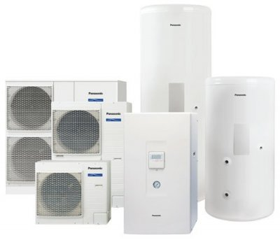 Panasonic Aquarea luft/vatten värmepumpssystem