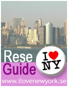 I Love New York - reseguide på svenska!