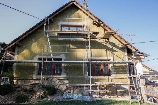 renovera fasaden