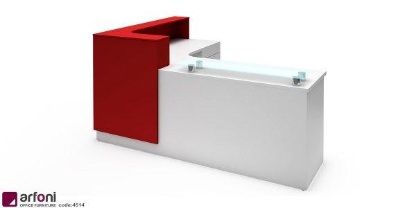 مبلمان و میز رسپشن با بهترین قیمت و طراحی اختصاصی