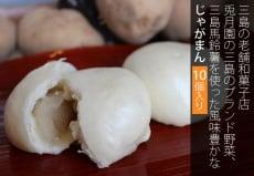 三島の老舗和菓子店 兎月園の 三島のブランド野菜、三島馬鈴薯を使った風味豊かなじゃがまん10個入