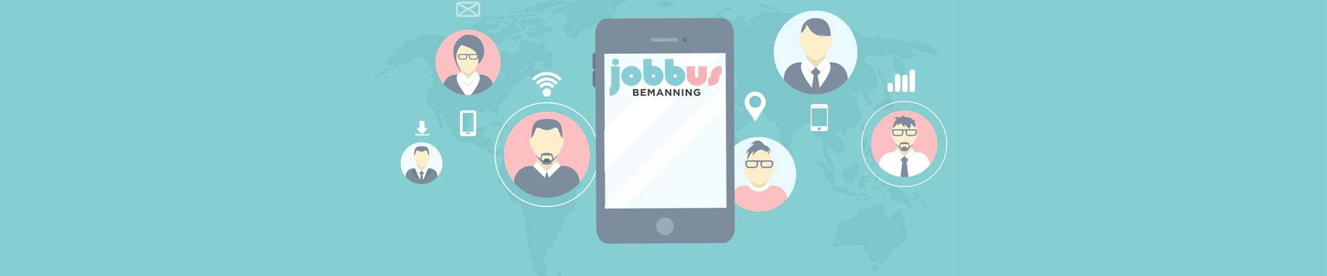 Jobbus Bemannings intro bild