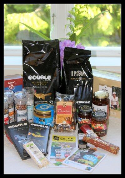 Rättvisemärkta produkter hos Kalahari