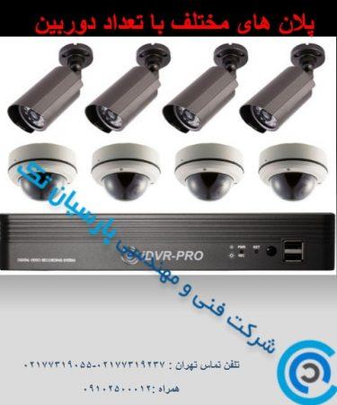 فروش انواع دوربین های مدار بسته