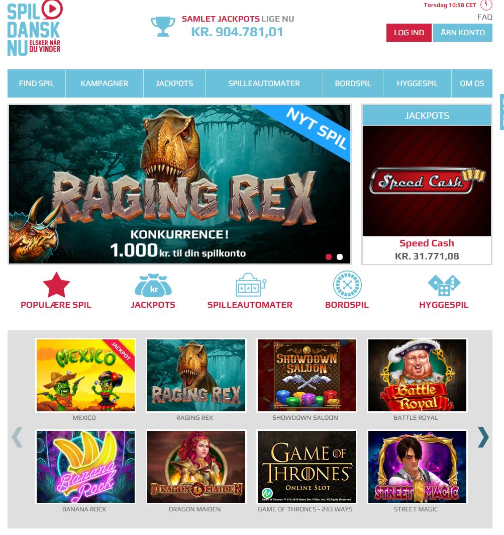 Spildansknu casino har dansk spillerlicens