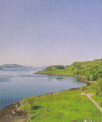Kerrera Ferry to Island of Kerrera, by Oban Scotland