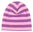 Nova star Striped Beanie Purple