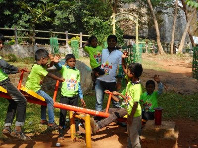 KKC Paralakhemundi in India enjoyed a picnic at Gandahati on the childrens day