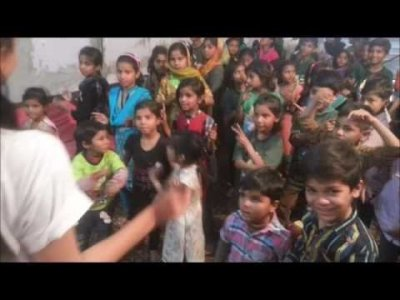 Kingdom Kids Club in Pakistan sing Christian songs