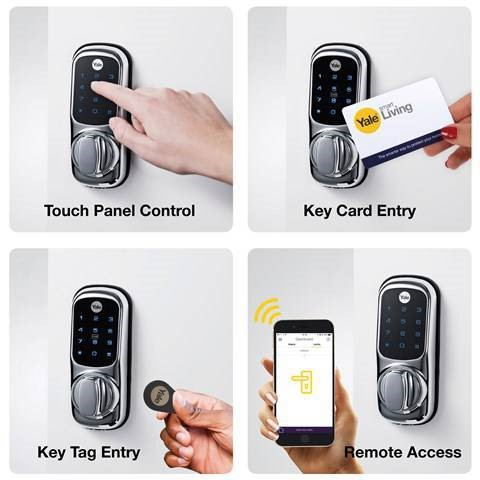قفل الکترونیکی درب خانه و آپارتمان