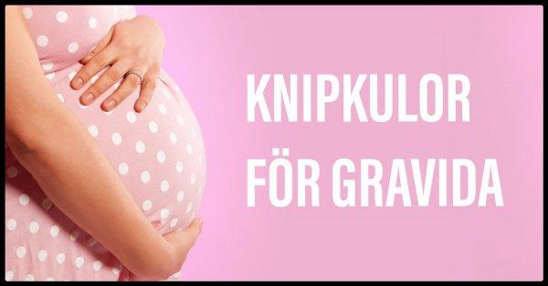 Knipkulor och knipövningar vid graviditet.