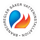 säker vatteninstallation logotyp