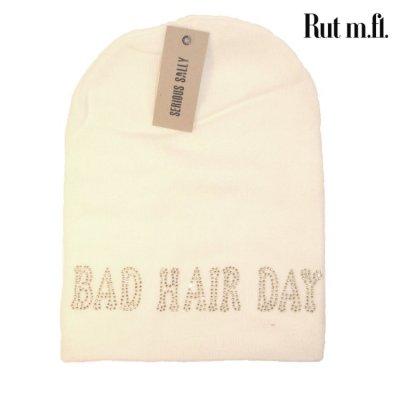 Vit Bad hair day mössa