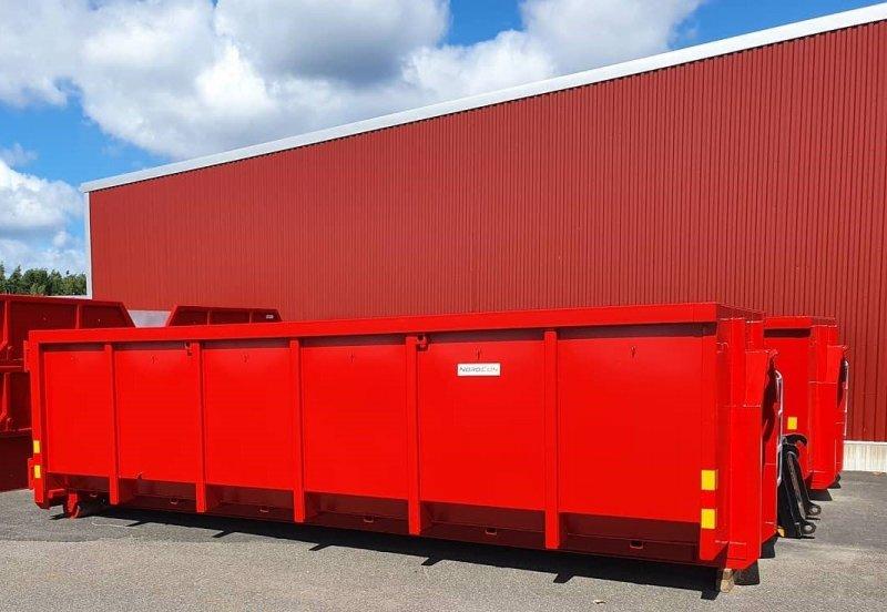Vi hyr ut container i Skövde av typen lastväxlarflak.
