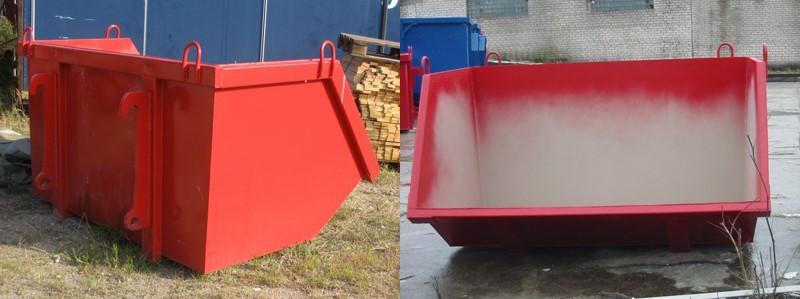 Vi hyr ut container i Skövde av typen BM Container.