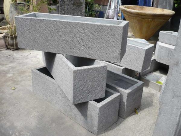 Krukor i cement
