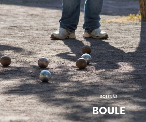 Spela boule i Sotenäs.