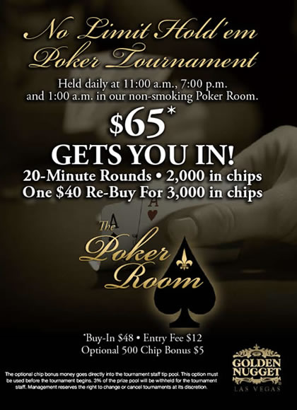 poker p? golden nugget