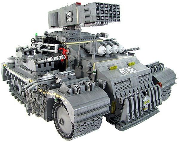 Militärfordon lego