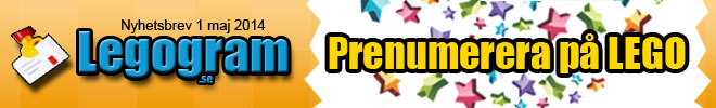 Legogram.se - En prenumeration på LEGO! Världens bästa barn prenumeration