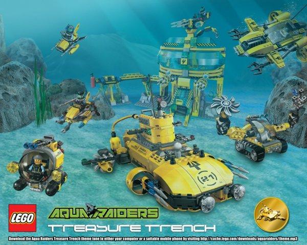 Aqua raiders Lego