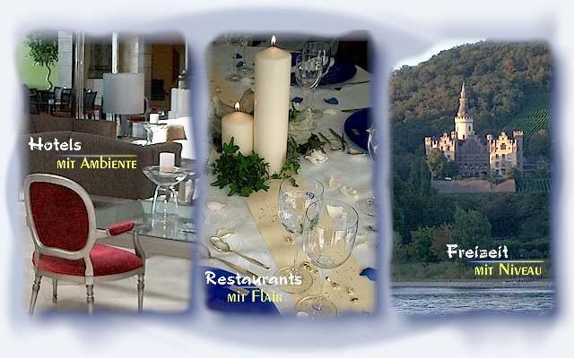 Auf der Seite Lifestyle-unterwegs.de finden Sie ausgesuchte Hotels und Restaurants mit stilvollem Ambiente, sowie eine Vielzahl niveauvoller Freizeittipps.