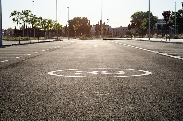 linjemålning hastighetsbegränsning