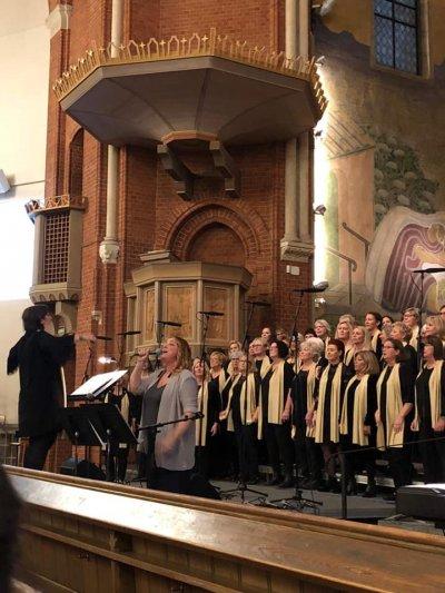 Living Gospel kör i Borås