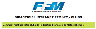 didacticiel intranet ffm reaffiliation