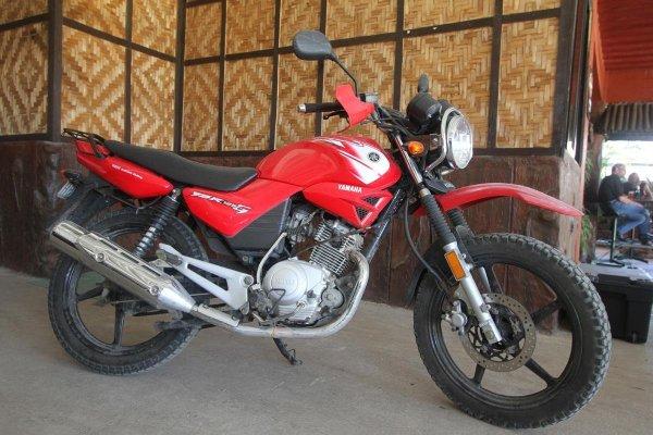 Yamaha 125 cc YBR Motorcycle rental