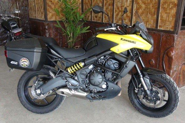Kawasaki Versys 650 Motorcycle rental