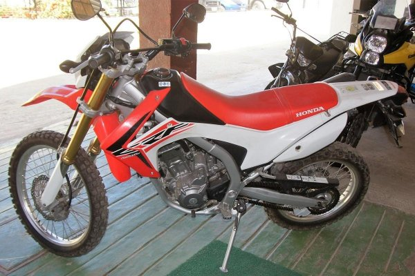 Honda CRF 250cc Motorcycle rental