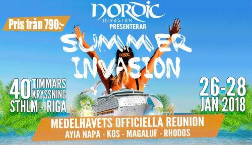 Summer Invasion 2018