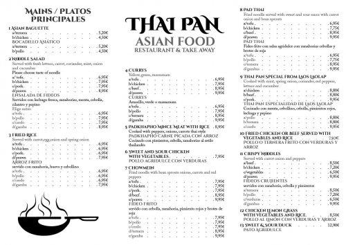 Thai Pan - Asian Food (meny 1)