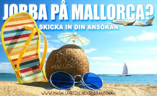 Jobba på Mallorca 2020
