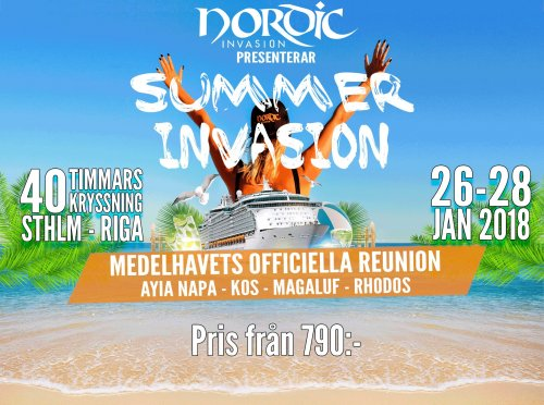 Summer Invasion 2018 - Nordic Invasion
