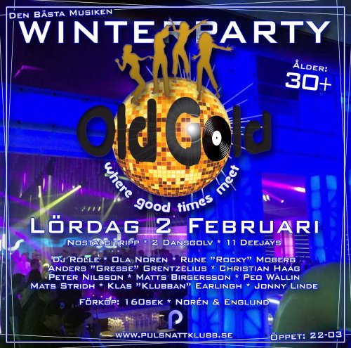 Old Gold Winterparty