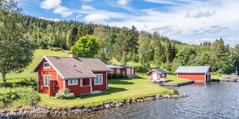 Gård vi mäklare i Östersund sålt.