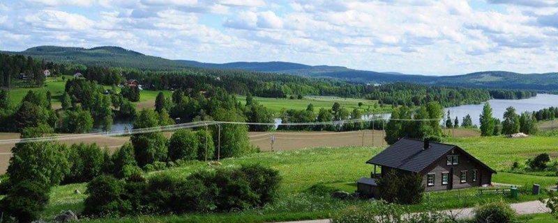 Mäklare i Ljusdal kan hjälpa dig få den här utsikten!
