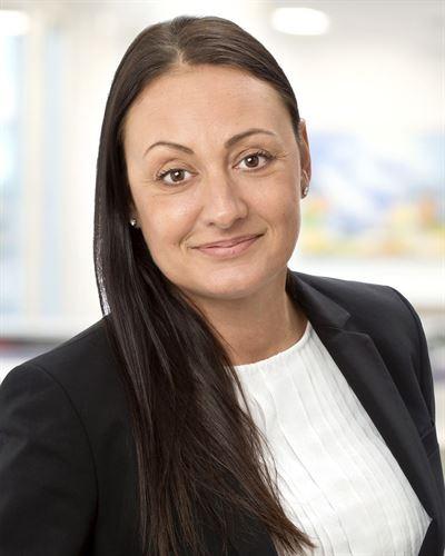 Biljana Milinovic är en av våra engagerade mäklare i Huddinge.