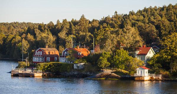 lyxigt boende i Stockholms skärgård
