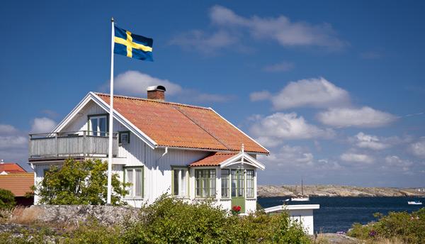 svensk flaggstång