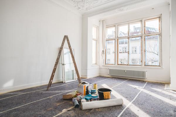 renovering måla fönster